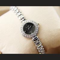 Small fresh rhinestone watchband ladies watch sun pattern gorgeous rhinestone watch