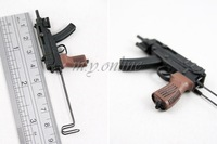 Hottoys ht 5 jill 2.0 jill combat uniform uzi submachine gunmodel