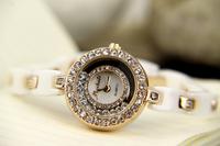 Mashali women's ceramic watch top ceramic watchband multiple sparkling diamond beautiful ladies watch