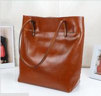 Exempt postage 2014 new lady handbag leather fashion designer leather shoulder bag fashion lady inclined shoulder bag