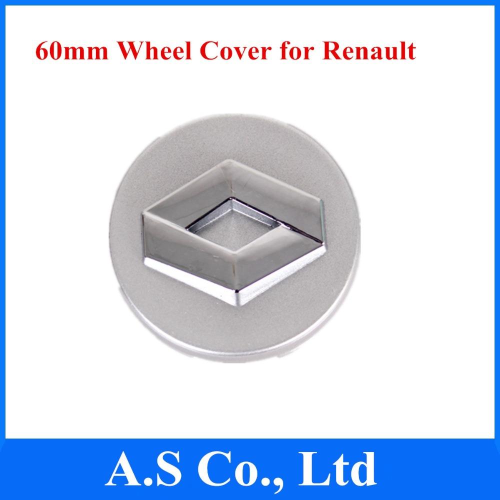 4pcs/lot embleme radnabe nabenkappe 60mm autorad abzeichen logo-emblem für renault versandkostenfrei