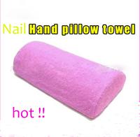 Nail art tools hand rest  pad towel  Rest Pillow Nail Art Design Manicure Care Soft Column