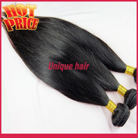 Indian Virgin Hair Straight 3pcs lot Queen Hair products 100% Unprocessed Human Unique Hair Extensions