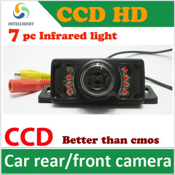 HD CCD Car rear view camera car backup camera color night vision waterproof universal camera for all car focus solaris k2 Cruze(China (Mainland))