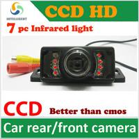 HD CCD Car rear view camera car backup camera color night vision waterproof universal camera for all car focus solaris k2 Cruze