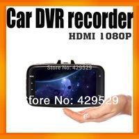 "Original Glass Len GS8000L Car DVR FHD 1080P HDMI output 2.7""Car Video Recorder  Dashboard Camera Built in G-sensor 10pcs/lot"