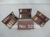 NEW Arrival makeup Naked Basics Eye Shadow Palette, 6 collors Eyeshadow Make UP Set 3pcs