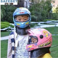 Child helmet antimist belt muffler scarf motorcycle electric bicycle helmet thermal