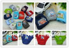 free shipping12pcs/lot cartoonUnderewears,Kids Underwear, baby boy's brief underwear,baby inner wear 2--12t(China (Mainland))