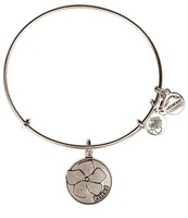 Alex and Ani  FRIENDS FLOWER Silver Plated Alloy Charm Bracelets and Bangles for girls Free Shipping