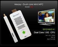 Measy U2A Android 4.2 Mini PC Full HD 1080P Dual core Mini PC RK3066 Andriod TV Dongle wifi HDMI RAM 1GB Nand Flash 4GB