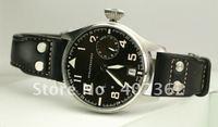 Mens Automatic Watch Big Pilot Chronometer Chronograph Portofino Pilots Gents Leather Watches