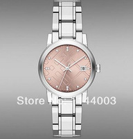Free shopping+ wholesale! 2014 new Explosion Swiss Made Women's Swiss Stainless Steel Bracelet Quartz 34mm Watch BU9124