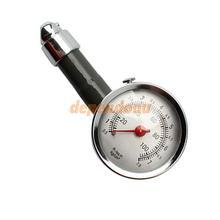 Auto Metal Truck Racing Car Tire Air Pressure Gauge F