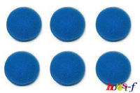 6 Blue Coarse Foam Media Filter Pads Suitable For Eheim Classic 2217 / 600 2616171