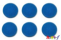 6 Blue Coarse Foam Media Filter Pads Suitable For Eheim Classic 2217 / 600 2616171