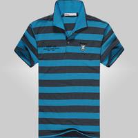 free shipping polo shirt men . hot sale men's colorful short sleeve polo shirt  29