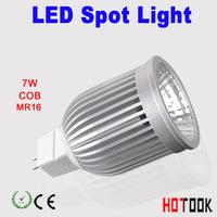 LED Spotlighting MR16 LED Bulb light 7w COBSMD led spotlight Spot Light Lamp 12V CE ROHS Warranty 2 years x 10pcs