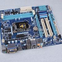 100% tested GA-H55M-D2H V1.4 Intel H55 MotherBoard Socket LGA 1156 DDR3 HDMI DVI MicroATX For Gigabyte DHL/TNT/UPS/fast shipping
