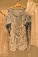2014 strapless t-shirt female short-sleeve shirt basic shirt