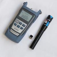 FTTx fiber optical test tools,Optical power meter  + 5KM red laser light  pen (10km~25km price higher)