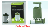 Miniwell outdoor water filter replacement cartridge(1 pcs pp cotton,1 pcs  carbon fiber, 1 pcs UF filter)only for Miniwell