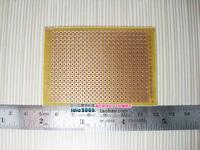 Bakelized universal board economic type 5cm x 7cm hole board experimental board pcb circuit board