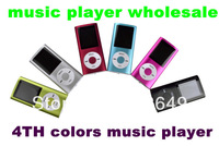 "HOT SALE 1.8"" LCD 4th Digita MP3 MP4 Player Video FM Radio Picture E-Book for 2GB 4GB 8GB 16GB SD TF memory Card (only mp4) 50pc"