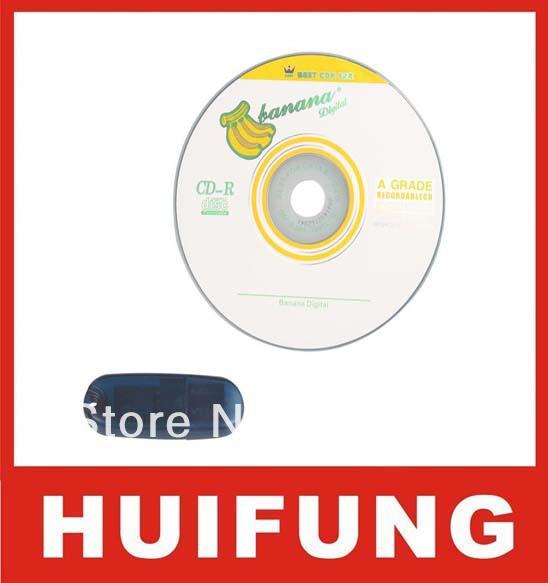 New SAAB TIS2000 CD and USB Key for GM TECH2 SAAB Car Model support multi-language(China (Mainland))