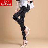 Spring and autumn polka dot pencil pants skinny legging pants female fashion casual pants