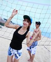 free Shipping swimming shorts for men, swimwear women lovers swimwear fashion shorts 13