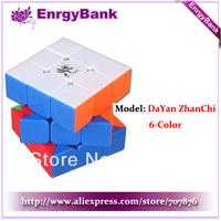 Free Shipping Dayan V zhanchi 5 Stickerless 3x3x3 Cube Speed Cube 3 x3x3 Six Color