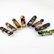 Stylish mini skate board multicolor 10pcs/LOT Finger Skate Board new arrival Hot sale Dropship wholesale price toys FreeShipping(China (Mainland))