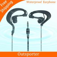 Promotion the water resistant IPx8 Waterproof Headsets Headphones Earphones good partner for waterproof swimming mp3 enjoy music