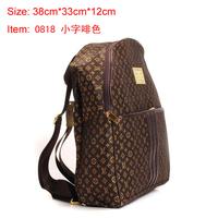 Women's leather backpack designers brand big knapsack vintage backpack men luggage&travel bags mochilas hiking backpack fashions