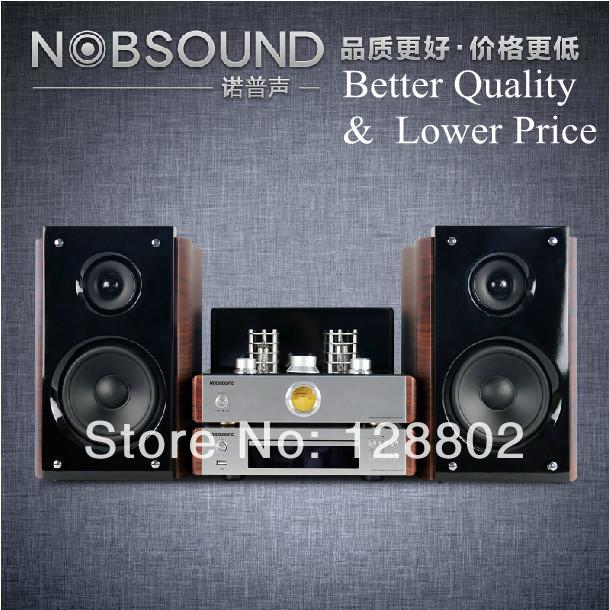 Nobsound TAP525 Tube HIFI Amplifier Kit Mini Combo Audio Set with CD DVD HIFI Fever Usb Speakers(China (Mainland))