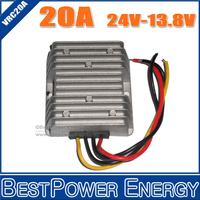 Wholesale 10pcs/lot DC24V-DC13.8V 20A Power Converters DC to DC Non-Isolated Step-down Voltage Regulators