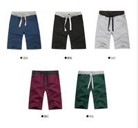 free Shipping 2014 fashion men's clothing Comfort drawstring cotton sport shorts summer autumn loose leisure man's shorts 19