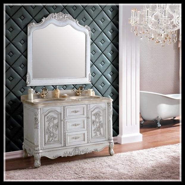 Online kopen wholesale antieke vloer spiegel uit china antieke vloer spiegel groothandel - Antieke stijl badkamer kast ...