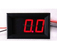 LED 0-100A Ammeter DC 4.5-30V Voltmeter Digital Voltage Current Panel Meter RED