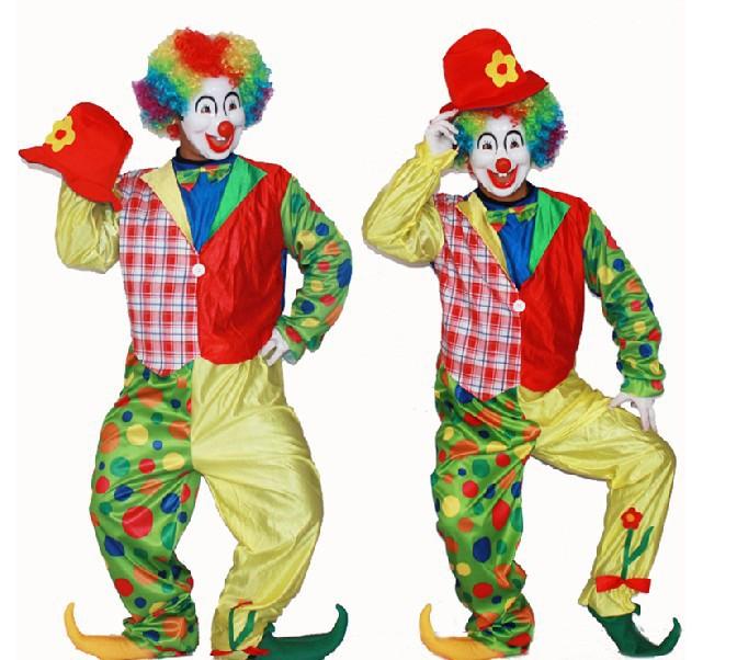 Взрослый костюм клоуна своими руками с фото