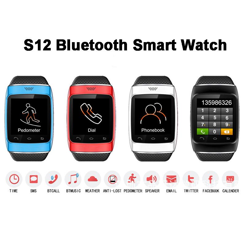 2014 Luxury Bluetooth Smart Watch Wrist Wrap Watch