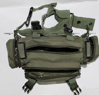 Fishing tackle fishing supplies backpack waist pack lure bag messenger bag fishing tackle multifunctional fishing bag