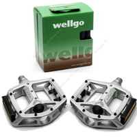 Free Shipping!Wellgo MG-3 MG3 MG 3 Magnesium Pedals For Road Bike pedals bicycle pedal MTB BMX DH Platform silver