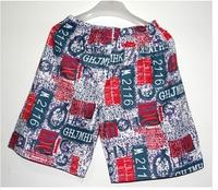 2014 Men's cotton beach pants casual shorts
