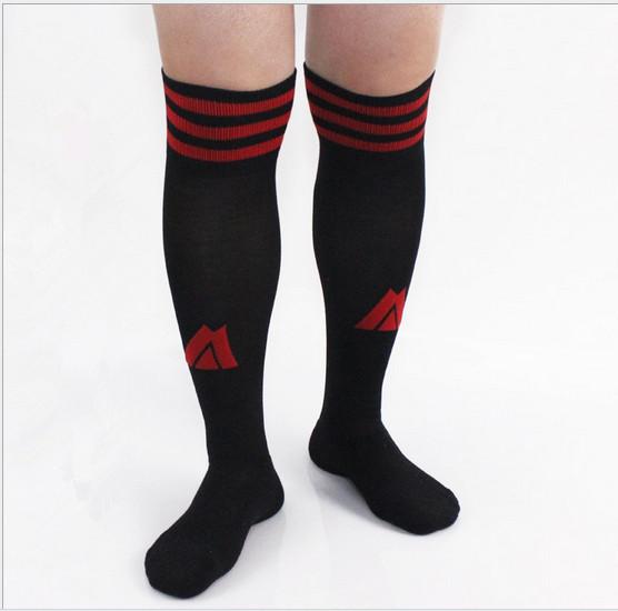 12 пар/много Взрослый футбол носки колено