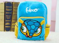 2014 New Arrival Quality Cute Brazil World Cup Plush Backpack Armadillo Schoolbag Child PRE School Kid Cartoon Bag B-0200