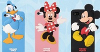 Free shipping Deco Fairy Branded 3D Cute Cartoon Mouse Soft Silicone Back Cover Case for Iphone 4 4S 5 5S for samsung S4 note 3