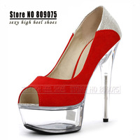 Free Shipping 2014 Silver Platform Stiletto High Heel Pumps Women Sexy Wedding Shoes Red Crystal Shoes Classic Party Dress Shoes