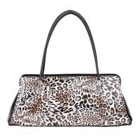 Tosoco women's leopard print shoulder bag 2014 women's japanned leather handbag small bags